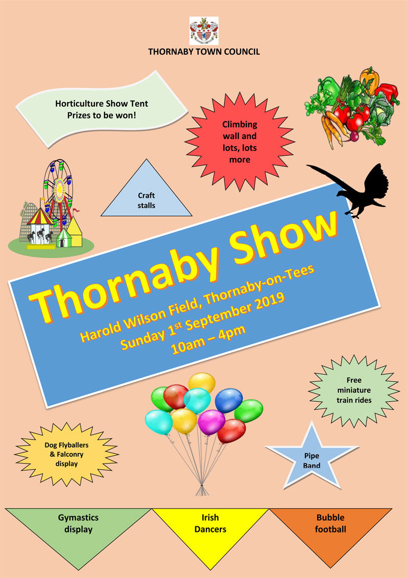 Thornaby Show Poster